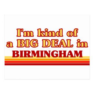 Soy un poco una GRAN COSA en Birmingham Tarjeta Postal