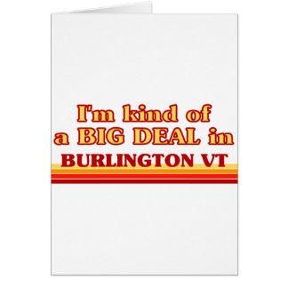 Soy un poco una GRAN COSA en Burlington Tarjeta De Felicitación