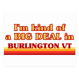 Soy un poco una GRAN COSA en Burlington Tarjeta Postal
