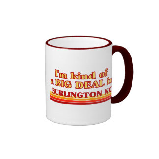 Soy un poco una GRAN COSA en Burlington Tazas De Café