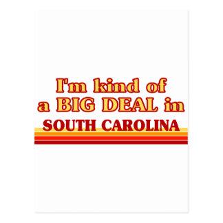 Soy un poco una GRAN COSA en Carolina del Sur Tarjeta Postal