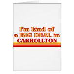 Soy un poco una GRAN COSA en Carrollton Felicitaciones