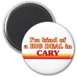 Soy un poco una GRAN COSA en Cary Imán Redondo 5 Cm