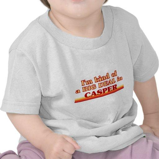 Soy un poco una GRAN COSA en Casper Camisetas