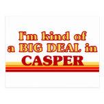 Soy un poco una GRAN COSA en Casper Tarjeta Postal