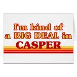 Soy un poco una GRAN COSA en Casper Tarjetón