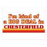Soy un poco una GRAN COSA en Chesterfield Postales