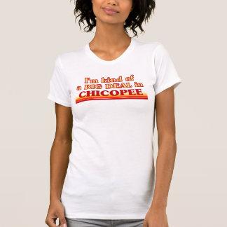 Soy un poco una GRAN COSA en Chicopee Camisetas