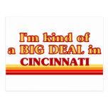 Soy un poco una GRAN COSA en Cincinnati Postal