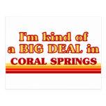 Soy un poco una GRAN COSA en Coral Springs Postal