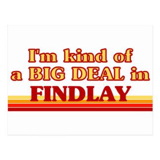 Soy un poco una GRAN COSA en Findlay Postal