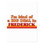 Soy un poco una GRAN COSA en Frederick Postales
