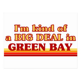 Soy un poco una GRAN COSA en Green Bay Postal