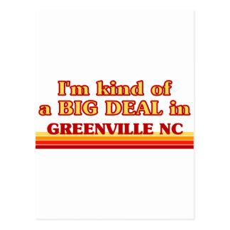 Soy un poco una GRAN COSA en Greenville Postales