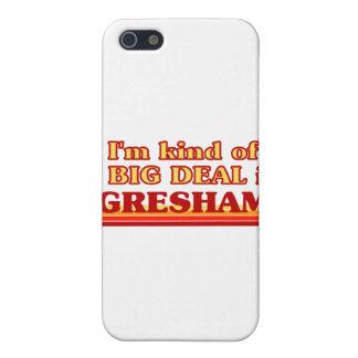Soy un poco una GRAN COSA en Gresham iPhone 5 Funda