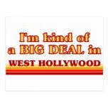Soy un poco una GRAN COSA en Hollywood del oeste Tarjetas Postales
