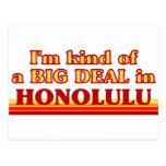 Soy un poco una GRAN COSA en Honolulu Tarjeta Postal