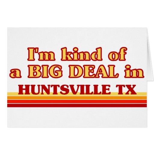 Soy un poco una GRAN COSA en Huntsville Felicitacion