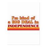 Soy un poco una GRAN COSA en independencia Postal