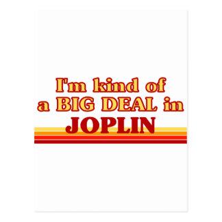 Soy un poco una GRAN COSA en Joplin Postal