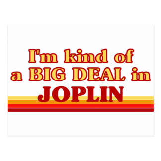 Soy un poco una GRAN COSA en Joplin Postales