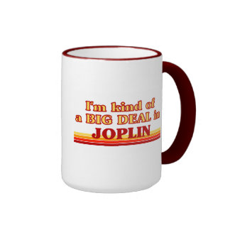 Soy un poco una GRAN COSA en Joplin Tazas De Café