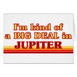Soy un poco una GRAN COSA en Júpiter Tarjetas