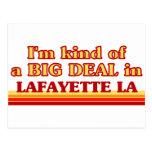 Soy un poco una GRAN COSA en Lafayette Postales