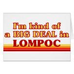 Soy un poco una GRAN COSA en Lompoc Tarjeta