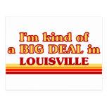 Soy un poco una GRAN COSA en Louisville Postales