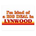 Soy un poco una GRAN COSA en Lynwood Tarjetas Postales