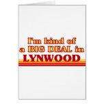 Soy un poco una GRAN COSA en Lynwood Tarjetas