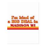 Soy un poco una GRAN COSA en Madison Tarjetas Postales
