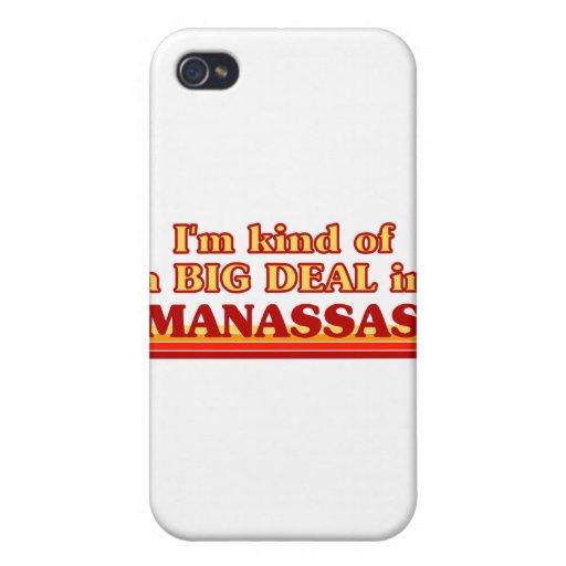 Soy un poco una GRAN COSA en Manassas iPhone 4 Cárcasas