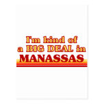Soy un poco una GRAN COSA en Manassas Postales
