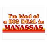 Soy un poco una GRAN COSA en Manassas Tarjeta Postal