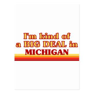 Soy un poco una GRAN COSA en Michigan Postal