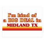 Soy un poco una GRAN COSA en Midland Tarjeta Postal