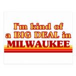 Soy un poco una GRAN COSA en Milwaukee Postal