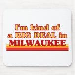 Soy un poco una GRAN COSA en Milwaukee Alfombrillas De Raton