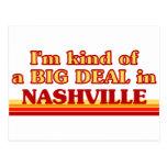 Soy un poco una GRAN COSA en Nashville Postales