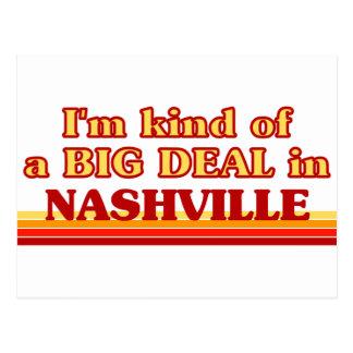 Soy un poco una GRAN COSA en Nashville Tarjetas Postales