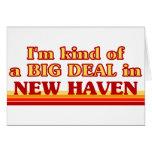 Soy un poco una GRAN COSA en New Haven Tarjeta