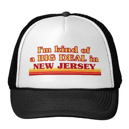 Soy un poco una GRAN COSA en New Jersey Gorras De Camionero