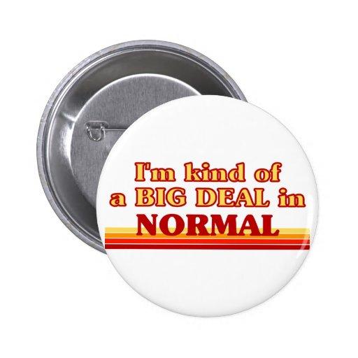 Soy un poco una GRAN COSA en normal Pin