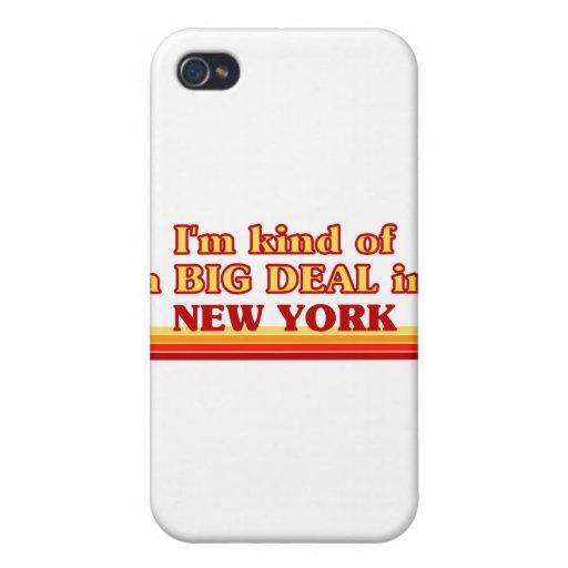 Soy un poco una GRAN COSA en Nueva York iPhone 4 Coberturas