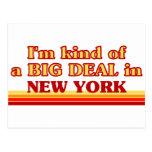 Soy un poco una GRAN COSA en Nueva York Postales