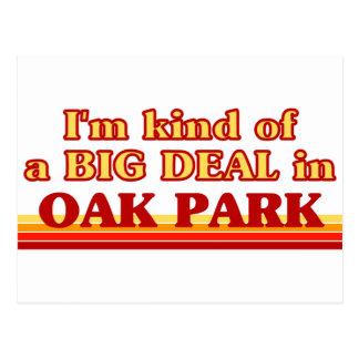 Soy un poco una GRAN COSA en Oak Park Tarjetas Postales
