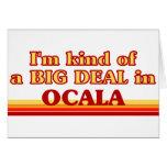 Soy un poco una GRAN COSA en Ocala Tarjetas