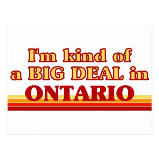 Soy un poco una GRAN COSA en Ontario Postal